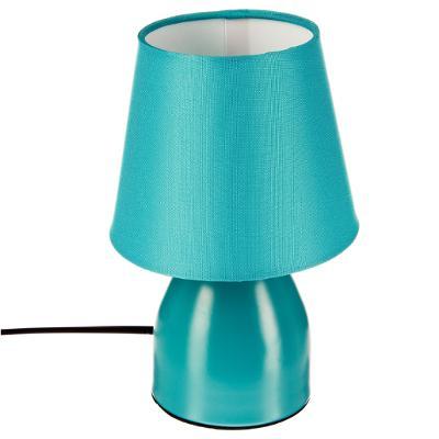 Topnotch turkusowa lampka nocna h19.5, niebieska hurtownia lub import UU33